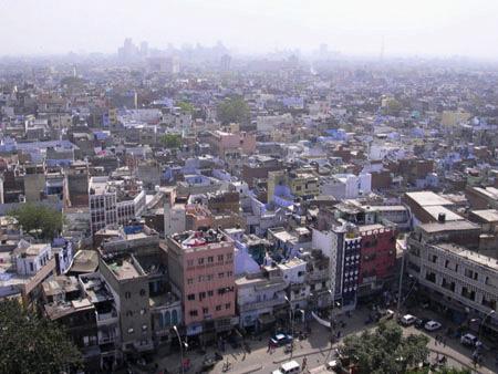 デリーの街並み カテゴリー選択 経済       インドの経済